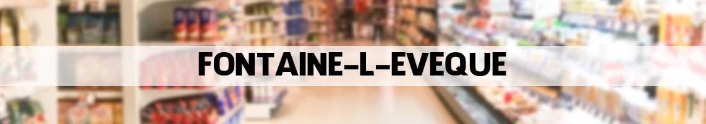 supermarkt Fontaine-l'Evêque
