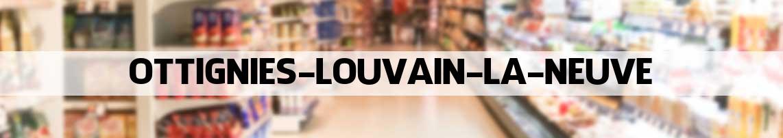 supermarkt Ottignies-Louvain-la-Neuve